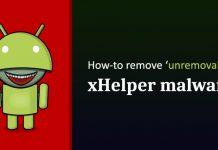 mã độc xhelper tự cài đặt khi factory reset android