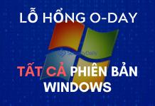lỗ hổng zero-day nghiêm trọng ảnh hưởng tới tất cả phiên bản windows