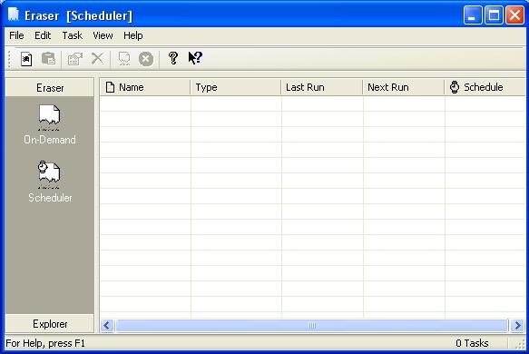 Xóa tệp an toàn với phần mềm Eraser