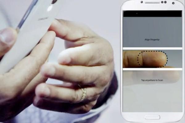 Bảo mật vân tay bằng camera của smartphone