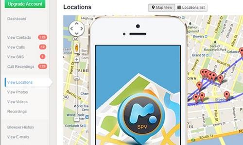 Điện thoại mSpy: cài sẵn phần mềm gián điệp
