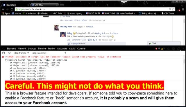 Chạy các đoạn mã độc qua Firefox & google