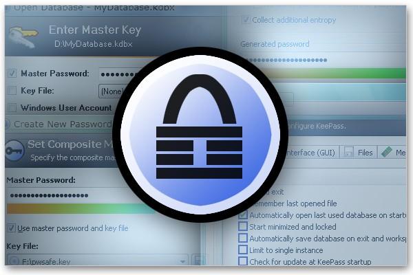 Lữu trữ mật khẩu với phần mềm KeePass