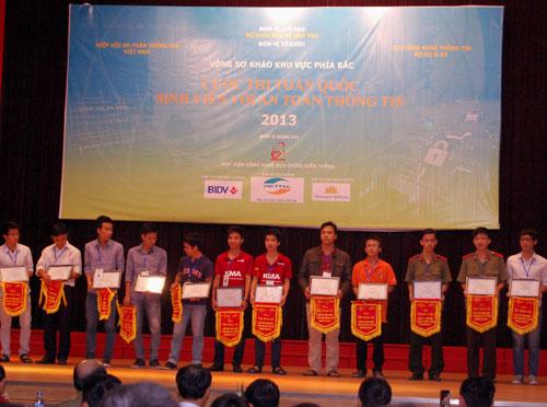 Thông báo về cuộc thi Sinh viên với An toàn thông tin 2014