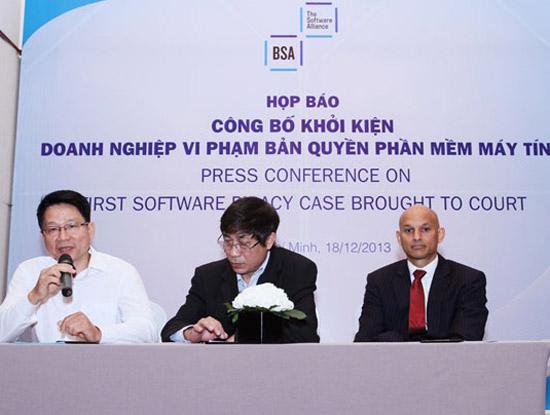 BSA đề cao Việt Nam khuyến khích doanh nghiệp phần mềm khởi kiện vi phạm bản quyền