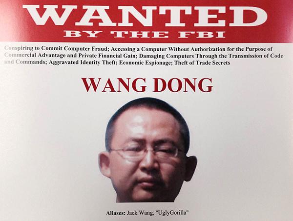 Trung Quốc phản ứng dữ dội sau khi bị Mỹ truy nã hacker