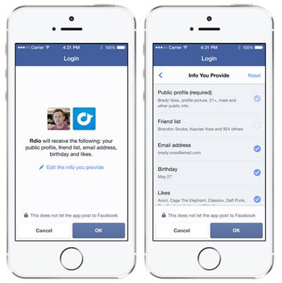 Facebook cho ra mắt ứng dụng Anonymous Login