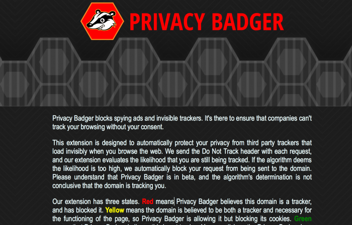 Privacy-badger