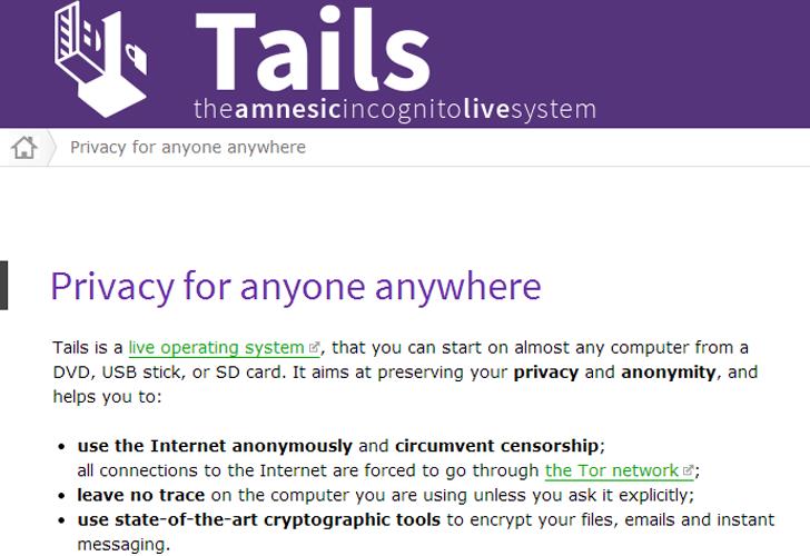 Hệ điều hành Tail phát hành phiên bản mới vá lỗ hổng trong thư viện NSS