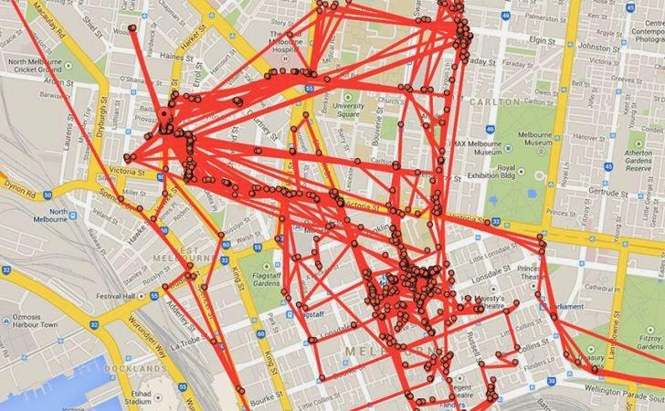 Google Map theo dõi từng bước đi của người sử dụng