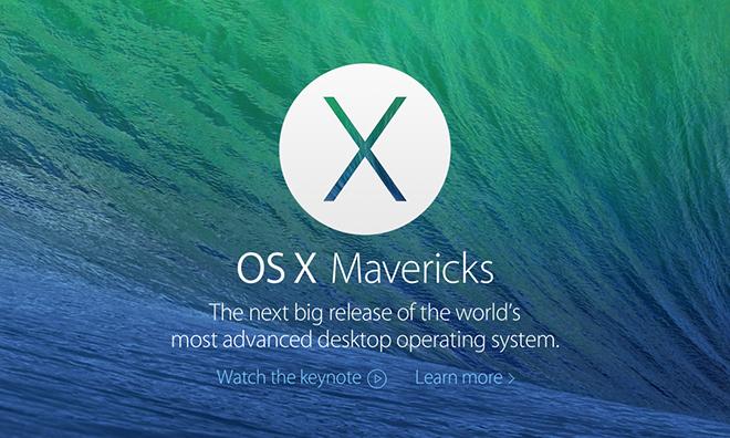 Apple phát hành bản cập nhật Mac OS X 10.9.5 cùng nhiều bản vá bảo mật