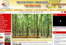 Cảnh báo website của Trung tâm xúc tiền đầu tư tỉnh Bình Phước bị tấn công