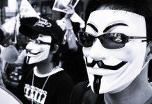 Nhóm hacker ANONYMOUS ủng hộ đấu tranh dân chủ ở Hồng Kông