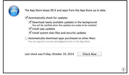 3. Thường xuyên cập nhật hệ điều hành.