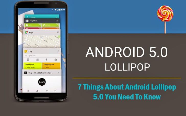 7 tính năng tuyệt vời được tích hợp trong phiên bản mới Android 5.0 Lollipop
