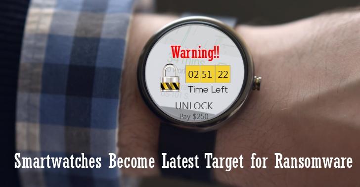 Tấn công đòi tiền chuộc đe dọa các thiết bị đeo tay và Internet of Things
