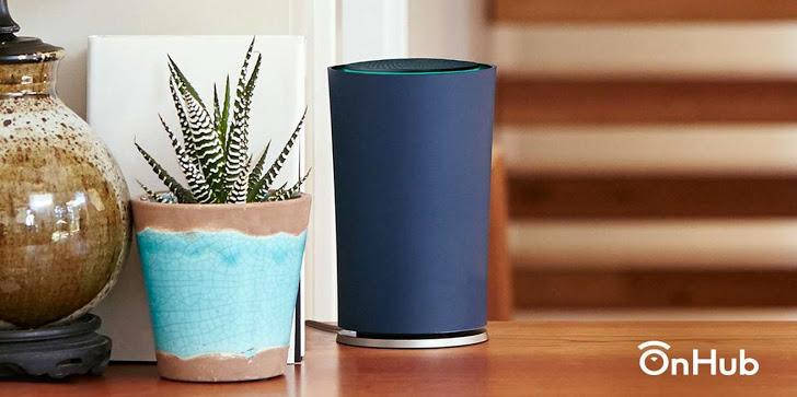 Google ra mắt Wifi Router OnHub thông minh mới
