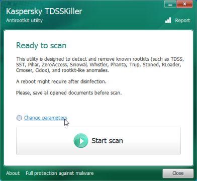 tdsskiller-change-parameters