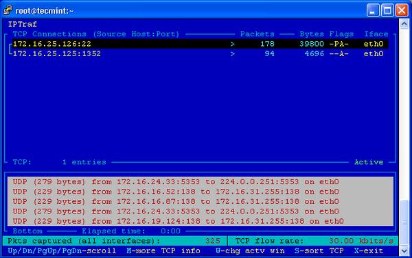 20 công cụ giám sát hiệu năng hệ thống Linux - IPTraf2