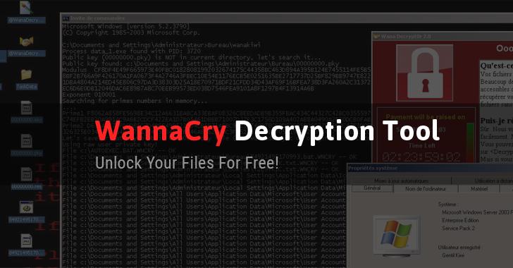 Phát hành công cụ giải mã WannaCry miễn phí