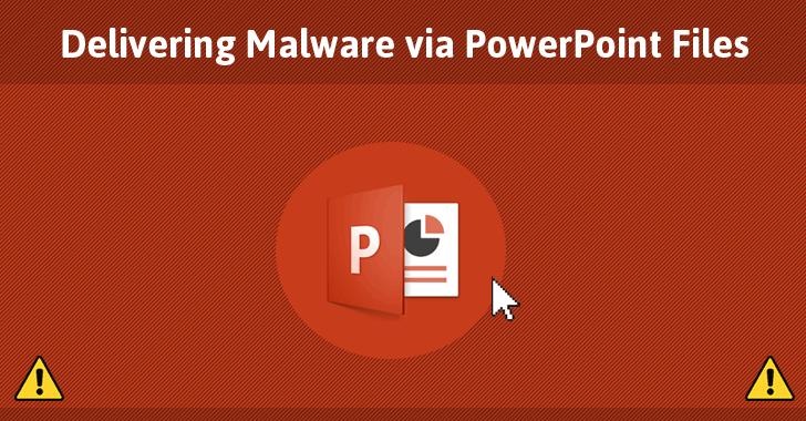 Cài đặt mã độc vào Microsoft PowerPoint mà không cần Macro