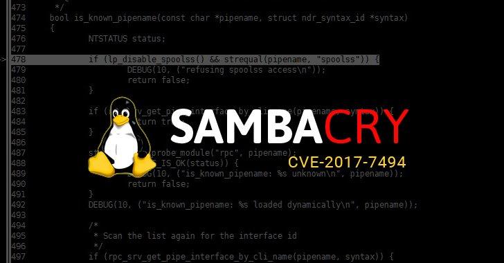"""Cảnh báo tin tặc đang sử dụng """"SambaCry"""" tấn công hệ thống Linux"""