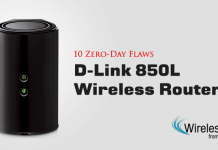 Lỗ hổng zeroday trong D-Link-850L