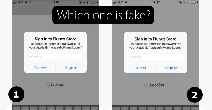 Cảnh báo tấn công lừa đảo mật khẩu Apple ID