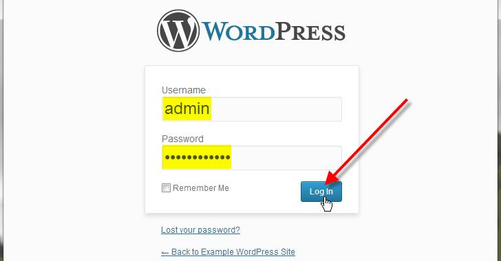 2000 website WordPress bị nhiễm mã độc đánh cắp tài khoản người dùng
