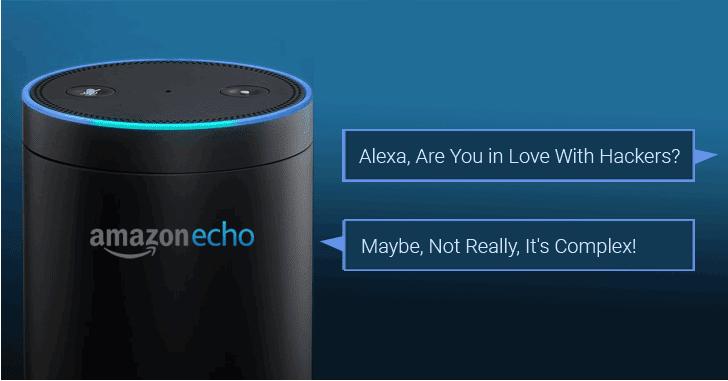 Amazon Alexa có thể tiến hành gián điệp người dùng