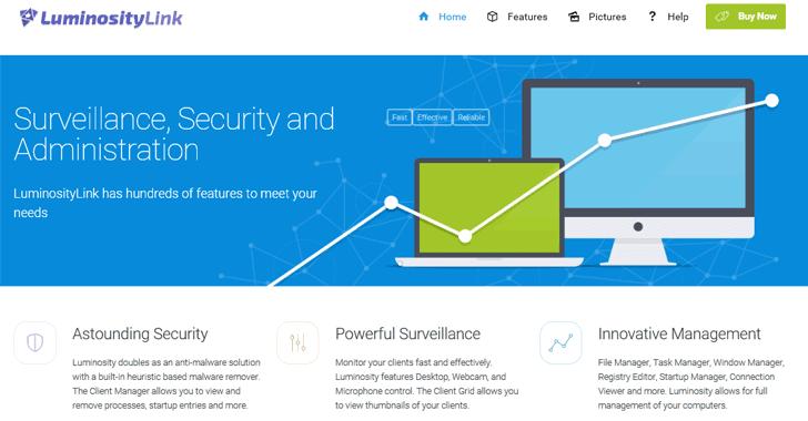 securitydaily luminosity link tác giả nhận tội công cụ hack