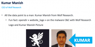 securitydaily_Wolf Intelligence để lộ thông tin phần mềm