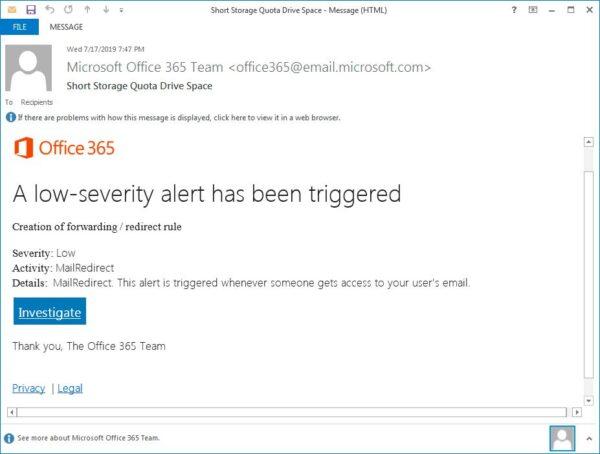 Lừa đảo trên Office 365 (2)