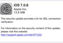 Apple tung ra iOS phiên bản 7.0.6 và 6.1.6 để vá lỗ hổng SSL